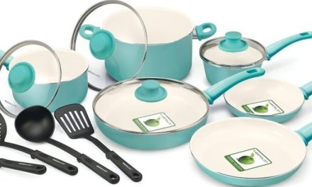 GreenLife Soft Grip 16-Piece Ceramic Non-Stick Cookware Set Review